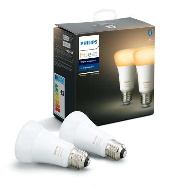 Philips Hue Lampen Bluetooth 2xE27 Warm tot Koelwit Licht MA 929002216904