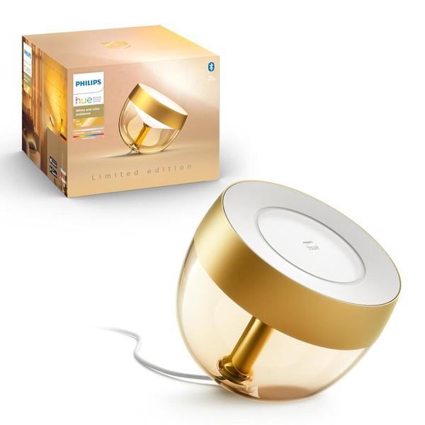 Philips Hue Iris Wit en gekleurd licht + Bluetooth. Limited edition! MA 929002376401 Goud