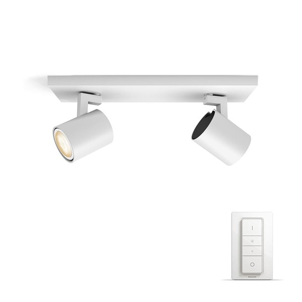Philips Hue Runner White Ambiance 2x spot MA 5309231P7 Wit