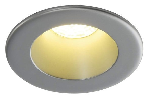 SLV Horn LED 9W warm white LED DM 160512 Zilvergrijs