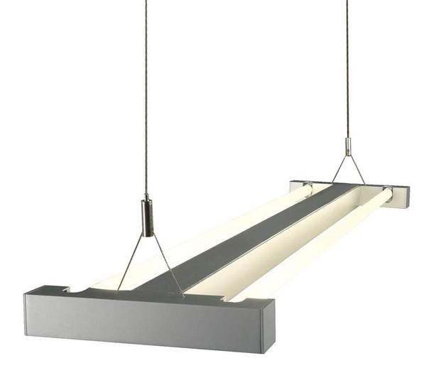 SLV I-Line horz. suspension DM 157012 Gris argenté