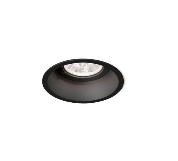 Wever & Ducre Deep 1.0 LED ZigBee wire springs WE 11216ZB2 Noir