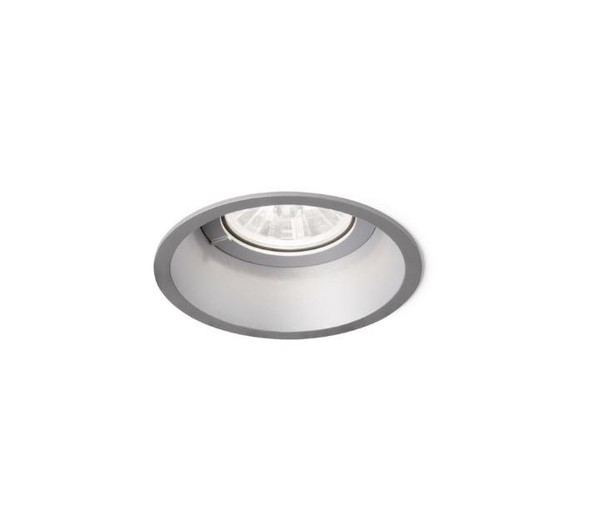 Wever & Ducre Deep 1.0 LED ZigBee wire springs WE 11216ZS2 Gris argenté
