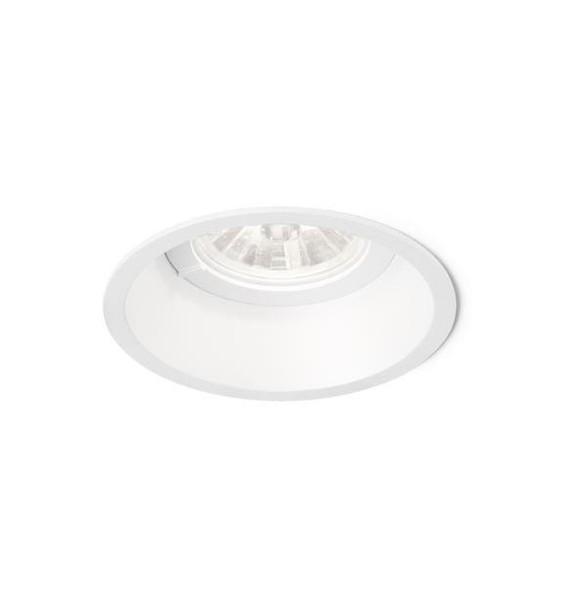 Wever & Ducre Deep IP44 1.0 LED ZigBee wire springs WE 11266ZW2 Blanc